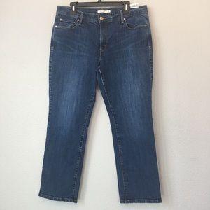 Levi's 505 straight jeans size 16